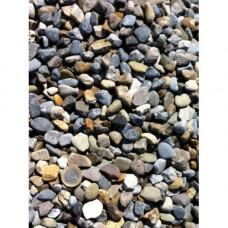 Round Grey Pebble